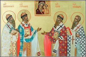 Святители Варсонофий, Герман, Гурий и Никандр